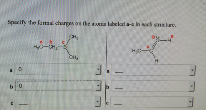 how to find formal charges of atoms