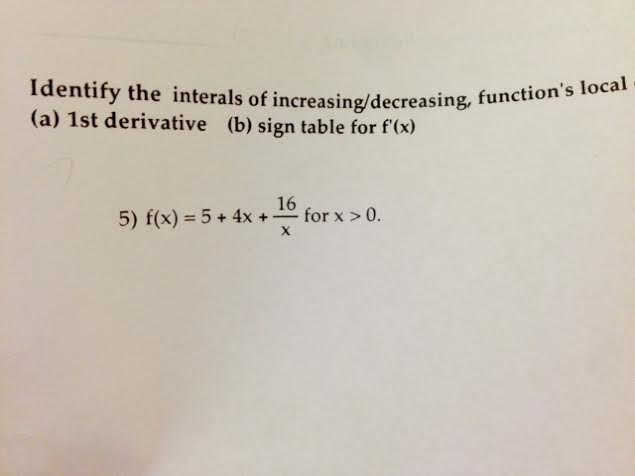 how to tell a function is decreasing