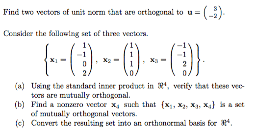 How to find the norm of a vector