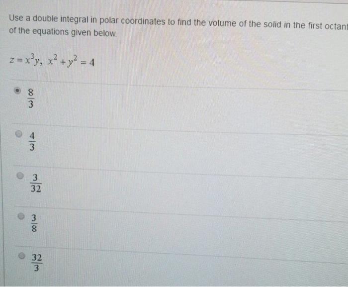Polar coordinates homework help