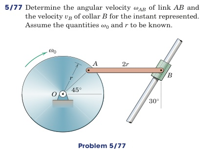 how to get from velocity to angular velocity