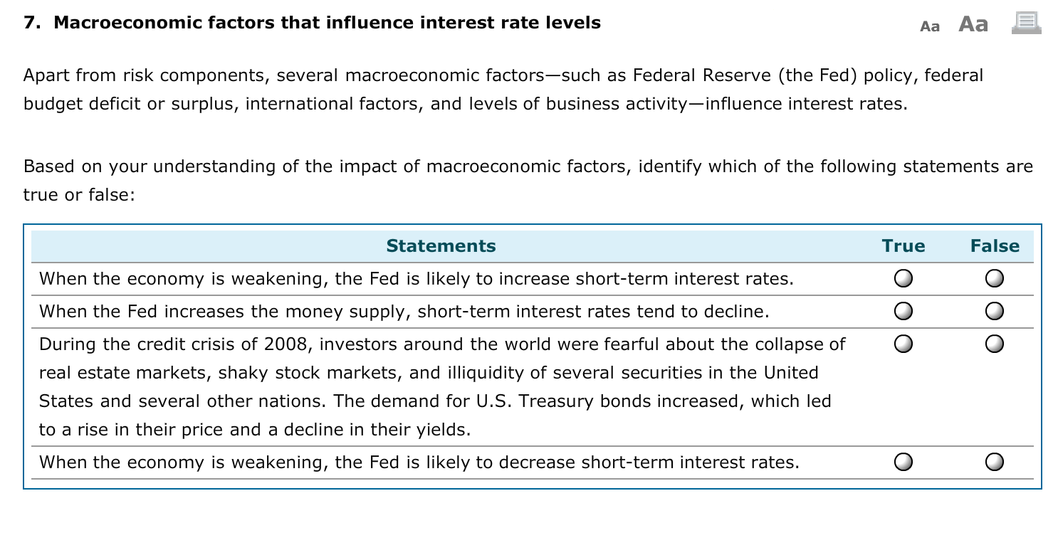 the federal reserve and macroeconomic factors What factors would influence the federal reserve in adjusting the discount rate by karen rogers changes in the federal reserve discount rate affect your business operations.