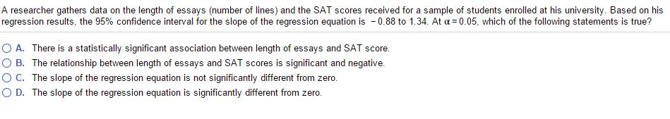 What's a sample sat 8 score essay
