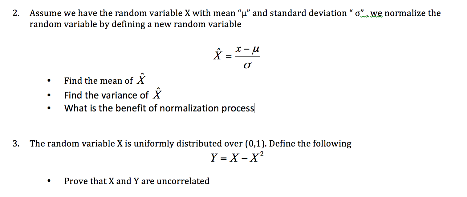 how to find y intercept with mean and standard deviation
