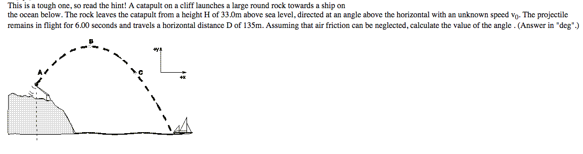 Calculate The Speed At Which The Rock Is Launched Cheggcom - Above sea level calculator