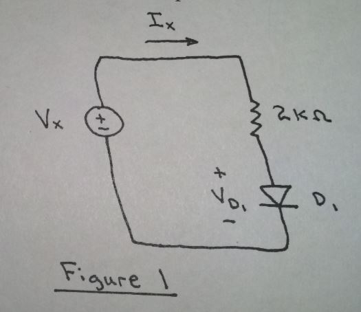 Consider the circuit shown in Figure 1, where Is =