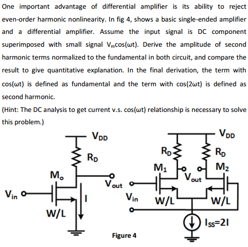 One important advantage of differential amplifier
