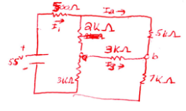 Referencing the below circuit, find the following