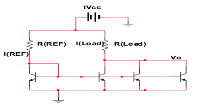 Consider the current multiplier circuit as shown b