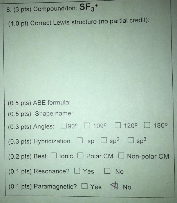 Solved 8 3 pts compoundlon sf3 10 pt correct lew 3 pts compoundlon sf3 10 pt correct ccuart Image collections