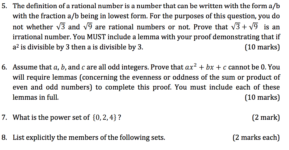 irrational numbers definition Rational numbers and irrational numbers although irrational numbers are not used much, they have their existence on the number line in fact, there is an infinite number of irrational numbers between 0 & 1 on the number line.