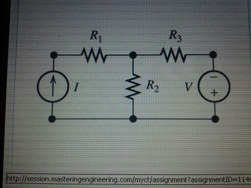 find the mesh current in the above circuit when I=