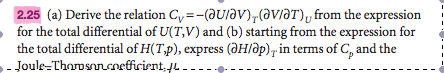 Derive the relation from the expression for the t