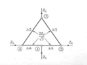 (1) For the symmetric hybrid shown below, calculat
