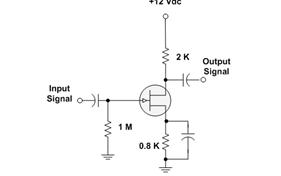 A BJT amplifier circuit has RC = 47 k? and RE = 2.