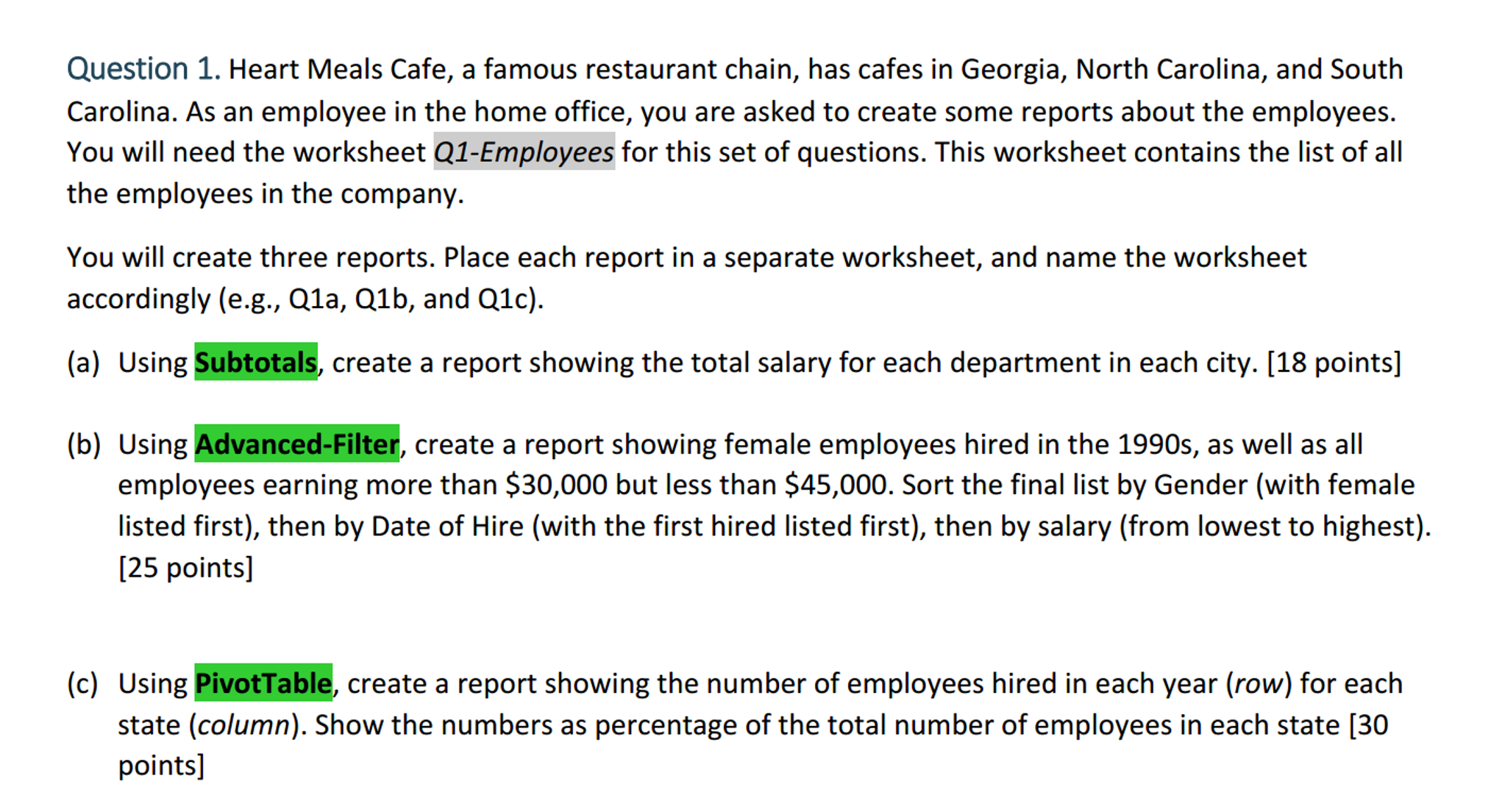 Heart Meals Cafe A Famous Restaurant Chain Has C – Than then Worksheet