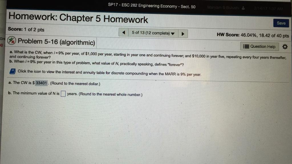 Rounding homework help