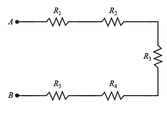 For the circuit shown(Figure 1) , what is the equi