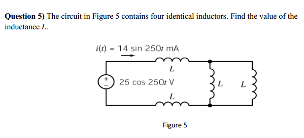 The circuit in Figure 5 contains four identical in