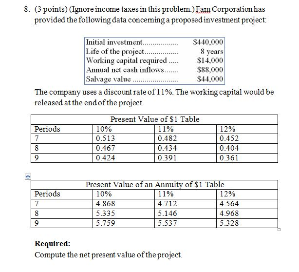 answer project tax Answer it would be marginal on a new project for example tax liability vs tax from fina 362 at minnesota state university, mankato.