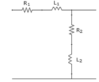 Determine for the following circuit: direct trans