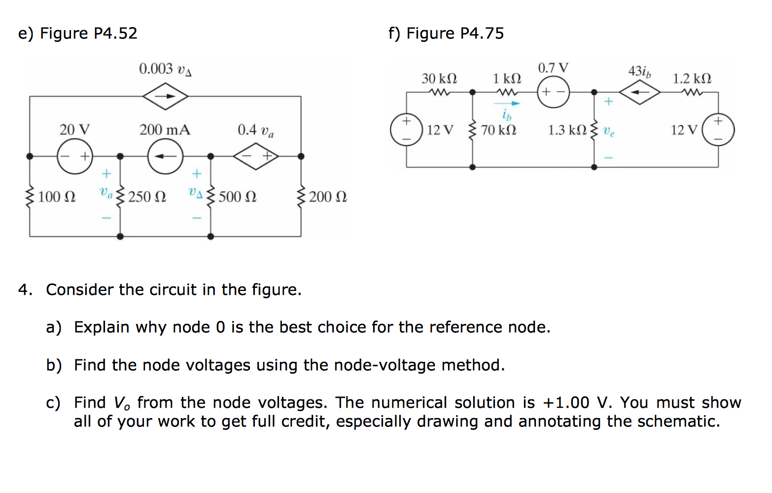 Consider the circuit in the figure. Explain why