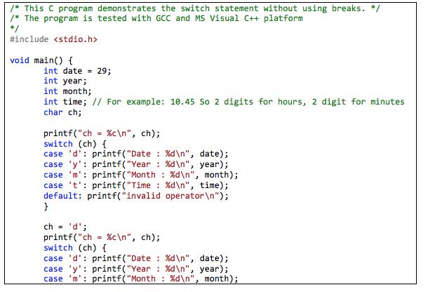 Solved: 1.1 For The Program Given Below, Compile, Debug (f ...