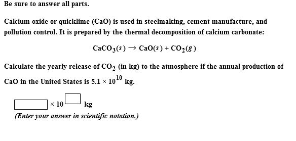 Cement Chemist Notation : Solved calcium oxide or quicklime cao is used in steelm