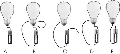 Solved: You Connect A Light Bulb To A Battery (assume A Go ...