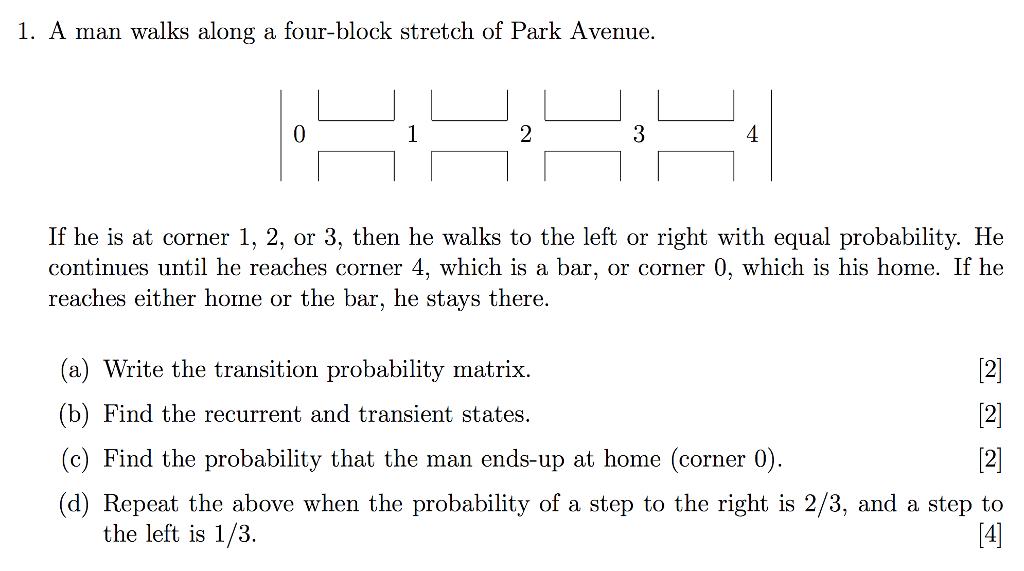 A Man Walks Along Four Block Stretch Of Park Avenue If