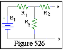 In the Fig. E.1=13 V, R.1=13 Ohms , R.2=7 Ohms ,