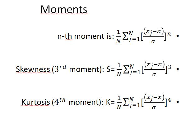 Moments N Th Moment Is 1 VN 2 Ness 3rd