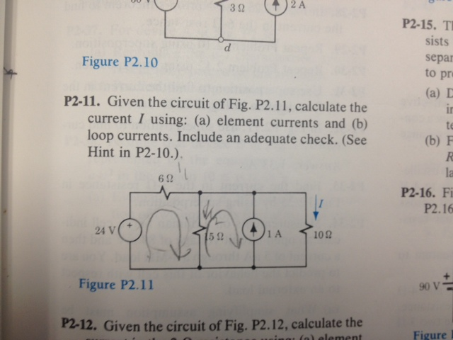 Figure P2.10 Given the circuit of Fig. P2.11, c