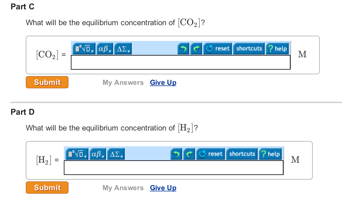 how to find the equilibrium concentration