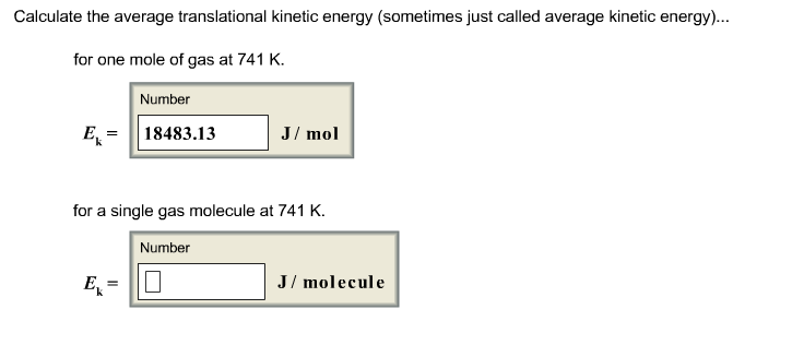 Translational Kinetic Energy Formula Solved: Calculate The ...