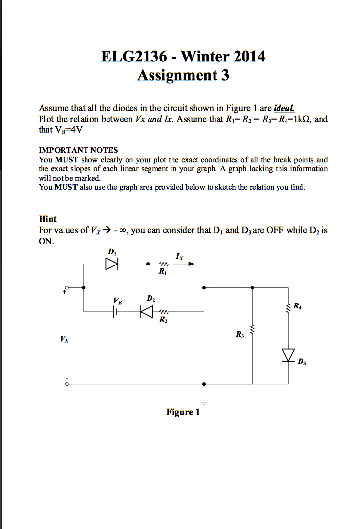 Assume that all the diodes in the circuit shown in