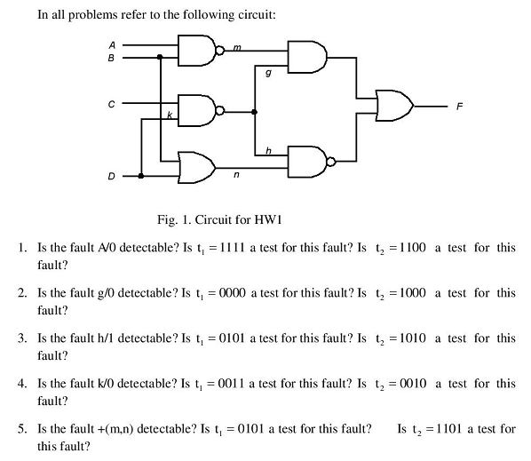 In all problems refer to the following circuit: I