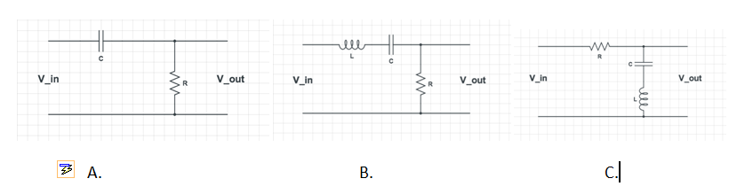 For the following circuits please 1. Obtain Transf