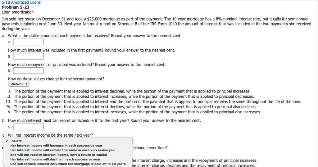 loan amatorization