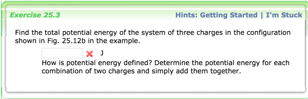 Solved: Find The Total Potential Energy Of The System Of T ...