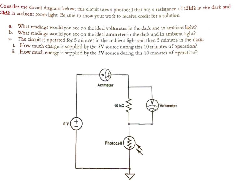 Solved: Consider The Circuit Diagram Below: This Circuit U ...