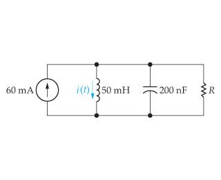 Assume that at the instant the 60 mA dc current so