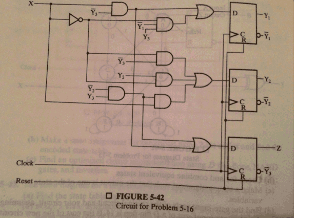Use the circuit attached in the photo to: Find th