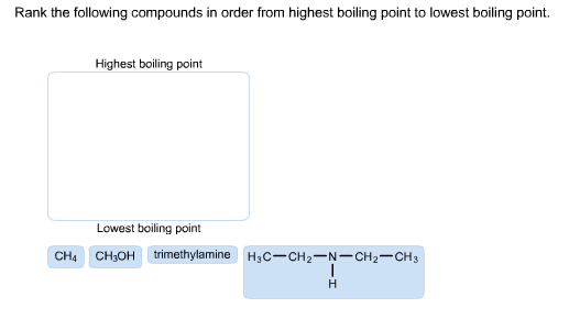how to find boiling point of a compound