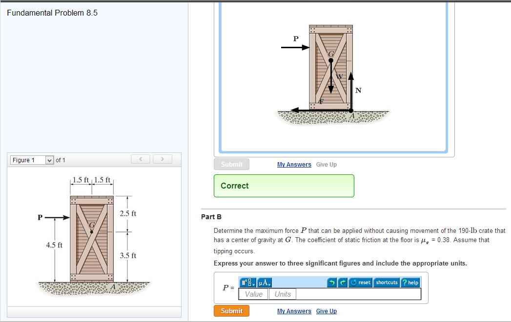 Determine The Maximum Force P That Can Be Applied ... | Chegg.com