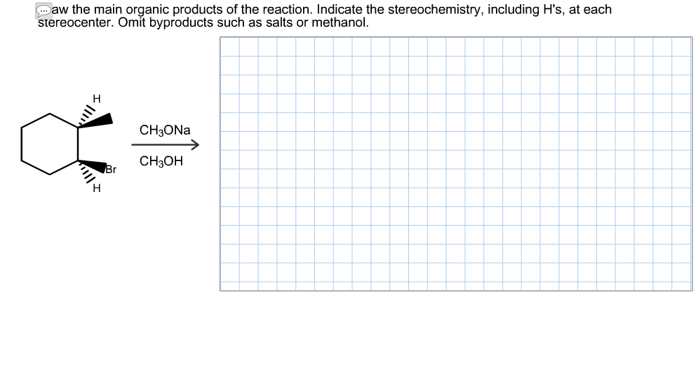 Scribble Drawing Questions : Solved draw the main organic products of reaction in
