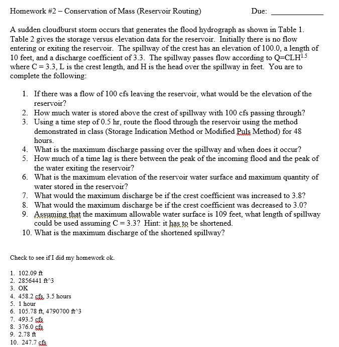 Homework law of conservation of mass - Google Docs