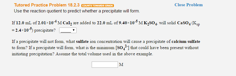 Use The Reaction Quotient To Predict Whether A Pre...   Chegg.com