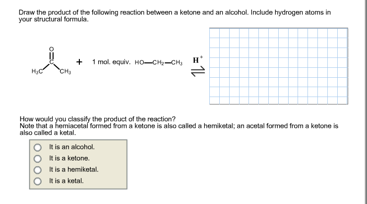 Solved: Draw The Product Of The Following Reaction Between ... H2 Structural Formula