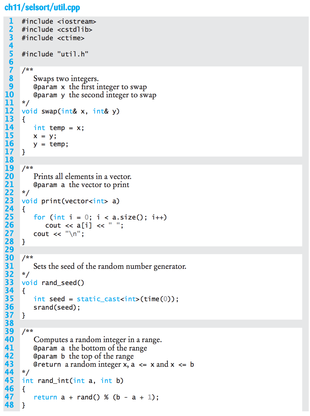 Solved: Rewrite (IN C++) The Insertion Sort Function In Ch ...